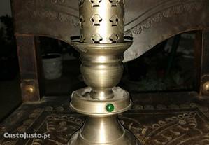 toucheiro antigo em metal da fergaspe