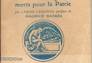 Anthologie des écrivains français morts pour la pa