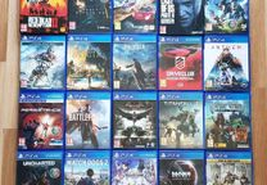 Jogos PS4 ver descrição
