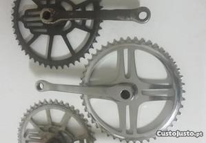 Bicicletas Antigas pedaleiras inglesas