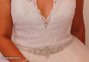 Vestido de Noiva NOVO!
