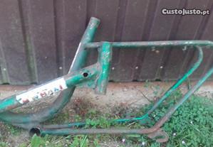 Bicicleta quadro Orbira dobravel