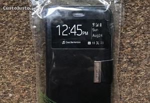 Capa tipo livro para Vodafone Smart Ultra 6