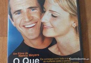 Dvd O Que as Mulheres Querem ENTREGA JÁ Filme com Mel Gibson Helen Hunt de Nancy Meyers