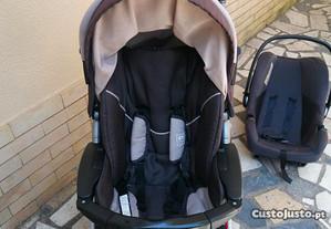 Carrinho bebê 3 peças (usado)