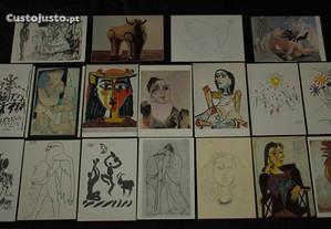 Postal Postais Pablo Picasso
