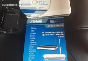 router Asus WL 520 GU