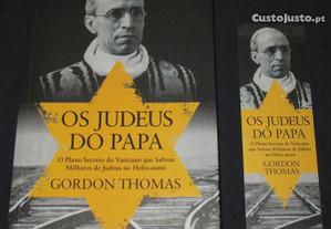 Livro Os Judeus do Papa Gordon Thomas