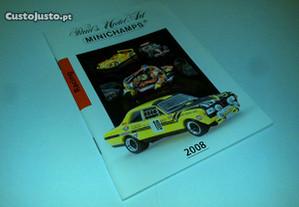 mini catálogo miniaturas minichamps 08-motas/carro