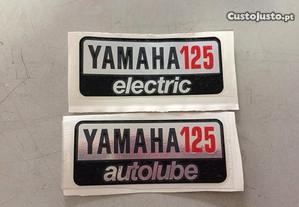 Autocolante Yamaha 125 A7 malas