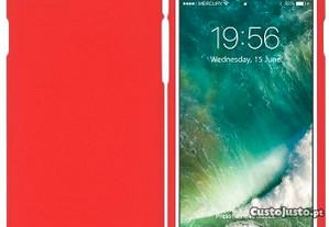 Capa Silicone Traseira Para Htc U11 Vermelho