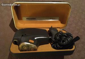 Máquina de barbear elétrica antiga (anos 70)