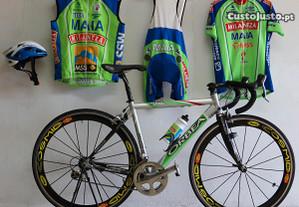 Bicicleta Profissional da Ex Equipa MAIA MILANEZA