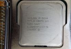 Processador Intel core 2 Duo E6550 com Dissipador