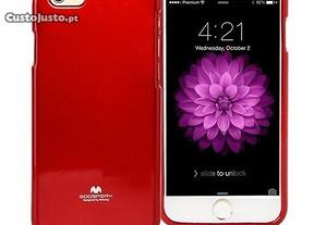 Capa Silicone Traseira Para Xiaomi Mi 6 Vermelho