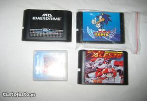 Cartucho Sega MD Ever Drive E outros Mega Drive