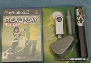 Realplay golf PS2 novo selado