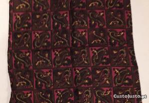 Lenço de bolso casaco homem, antigo