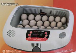 Chocadeira incubadora R com max 20 nova de fabrica