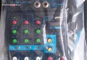 Mesa de mistura USB MP3/Bluetooth nova por estrear