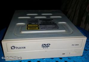 Leitor de DVDs Plextor