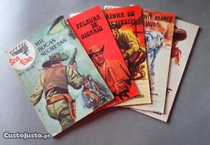 Livros Banda Desenhada - Colecção Seis Tiros