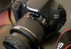 Canon EOS 1200D + 18-55 IS + Kit + s/ Garantia