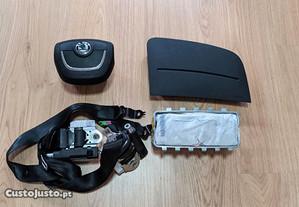 Conjunto Kit Airbags Skoda Fabia Tablier 2007-2014