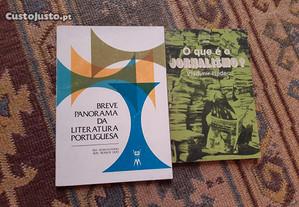 Obras de Literatura Portuguesa e Vladimir Hudec