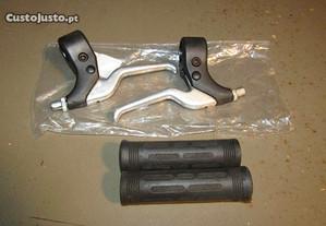 Manetes curtas de bicicleta Usadas