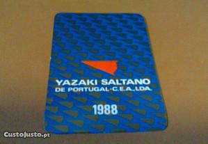 Calendários 1988-0,10 Yazaky Saltano de Portugal