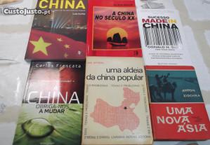 6 Livros sobre a China