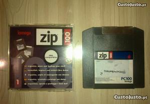 8 Disketes Iomega Zip 100Mb