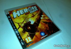 heroes over europe - jogo ps3 (jogo playstation 3)