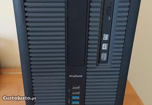 Computador i 3 com 8GB RAM HP G 610 + periféricos