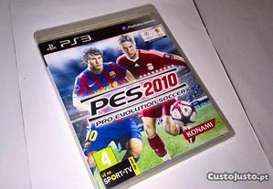 pes 2010 pro evolution soccer (jogo ps3)