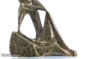 Escultura Mármore Figura Masculina