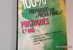 100% Preparado para a prova final - Português 4º ano (c/portes)