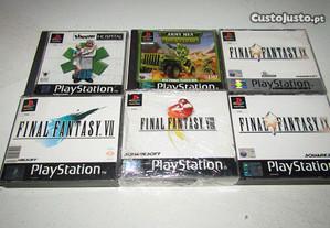 Jogos Playstation 1 - Ler anuncio