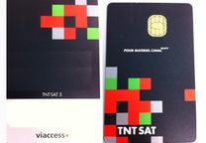 Cartão TNTSAT receptor TNT SAT HD V6 (novo)