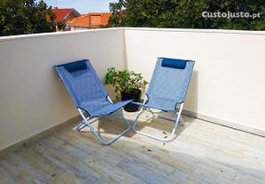 Vivenda com terraço grande para férias no Estoril