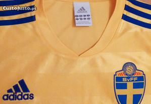 Camisola oficial da seleção Sueca futebol