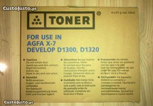Toner para Agfa x-7, develop d1300/ d1320 type 103