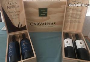 Conjunto vinhos- Real Companhia Velha