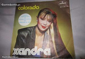 Disco em vinil da cantora Xandra