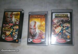 Conjunto de 2 Jogos PSP