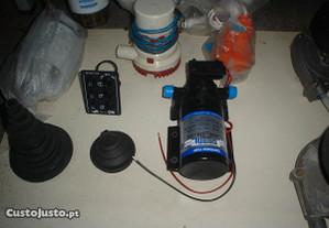Bombas de Esgoto para Barcos 12 volts