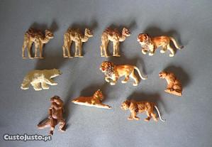 Antigas figuras animais Britains