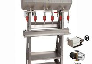 Maquina de enchimento semi-automatico p/ gravidade