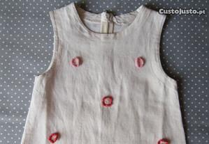 Vestido Girândola 4-5 Anos